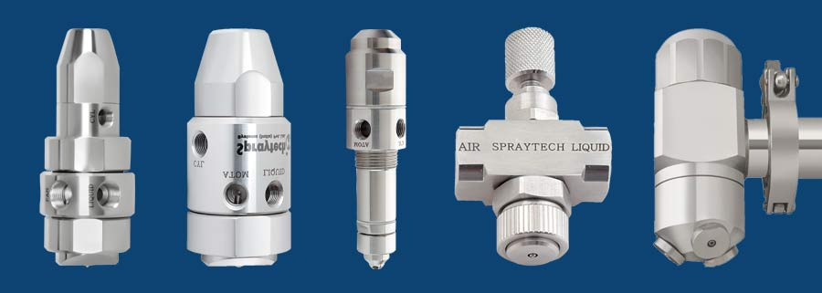Pharma Spray Nozzles / Tablet Coating Spray Nozzles india
